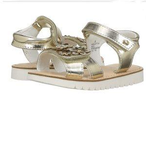 Naturino Express Violetta Gold Sandal